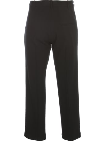 Ann Demeulemeester Wool Skinny Pants W/apllicated Pockets