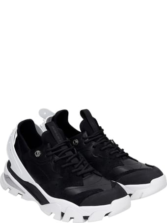 Calvin Klein Jeans Calador Sneakers In Black Leather