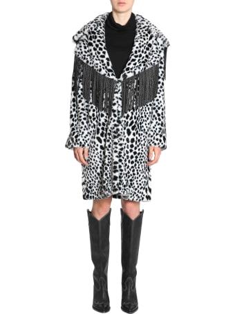 Ainea Eco Fur Animalier Jacket