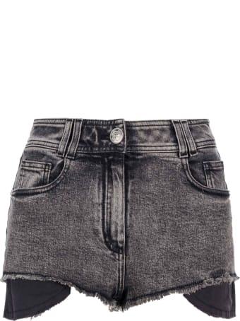 Balmain Frayed Hem Shorts
