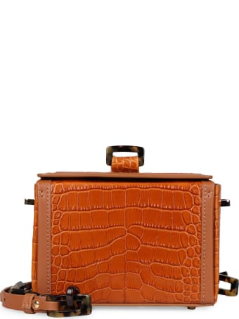 Nico Giani Cerea Crocodile Print Leather Bag