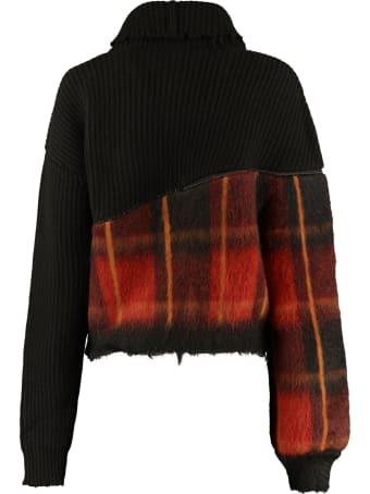 Ben Taverniti Unravel Project Oversized Turtleneck Sweater