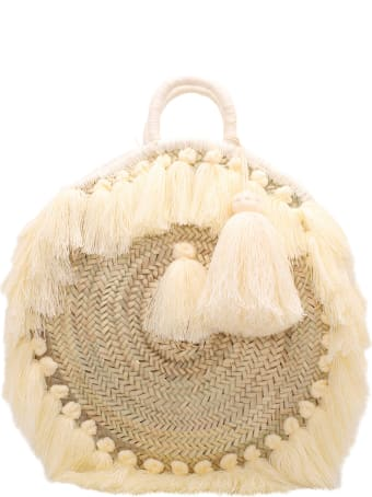 Gianluca Capannolo Straw Tote Bag