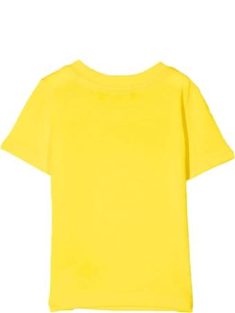 Dsquared2 Yellow Cotton T-shirt
