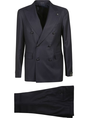 Tagliatore Double-breasted Plain Suit