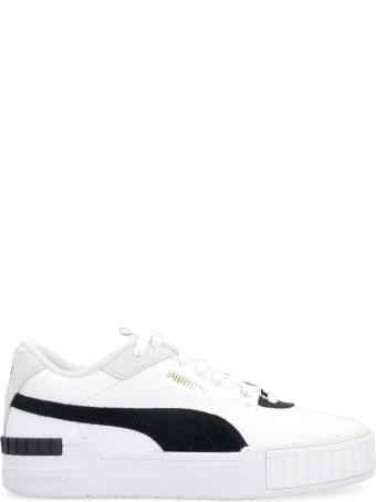 Puma Cali Sport Leather Sneakers