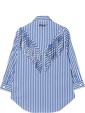 MSGM Kids Striped Shirt