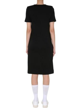 Lacoste Round Neck Dress