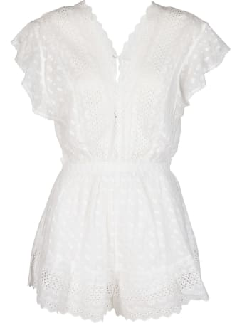 Isabel Marant Étoile White Cotton Romper