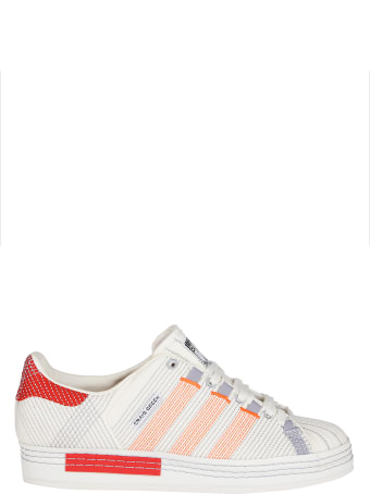 Adidas Originals by Craig Green White Canvas Cg Superstar Sneakers