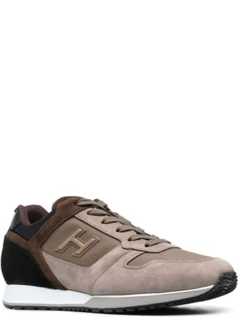 Hogan Brown H321 Sneakers