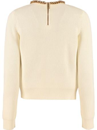 Elisabetta Franchi Celyn B. Embellished Sweater