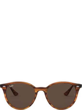 Ray-Ban Ray-ban Rb4305 Striped Red Havana Sunglasses