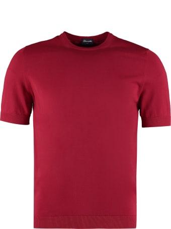 Drumohr Knitted Cotton T-shirt