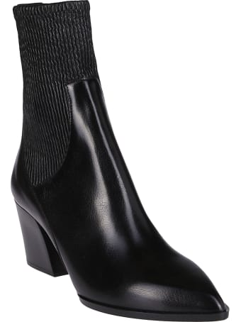 Pierre Hardy Black Leather Boots