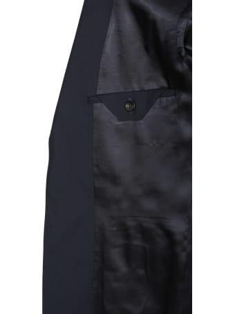 Z Zegna Single Breasted Wool Blend Dress