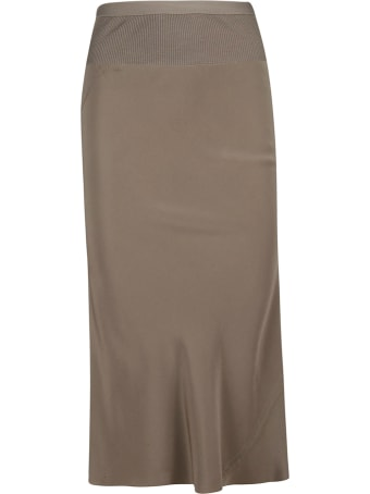 Rick Owens Slim Fit Pencil Skirt