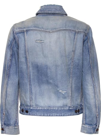 Saint Laurent Sky Denim Jacket