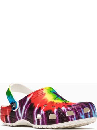 Crocs Classic Tie Dye Graphic Sliders 205453