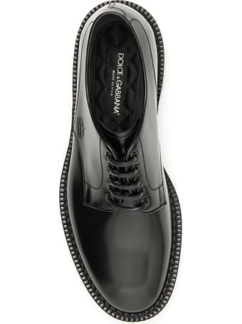 Dolce & Gabbana Marsala Derbies