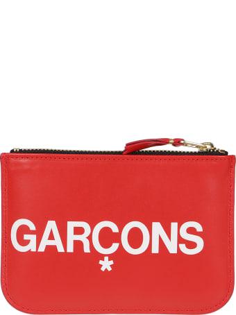 Comme des Garçons Wallet Huge Logo