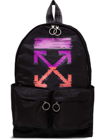Off-White Marker Arrow Easy Nylon Backpack