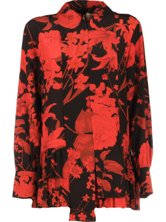Valentino Flowers Print Blouse