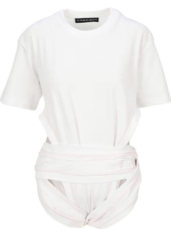 Y/Project Cut Detail Bodysuit Top