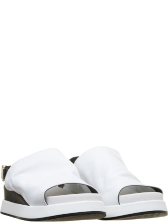 Tosca Blu Tosca Blu Sandals Maui In White Leather