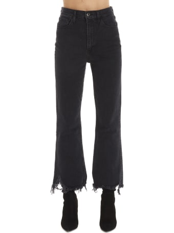 3x1 'empire Crop Fleare' Jeans
