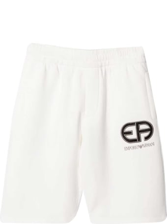Emporio Armani Shorts With Embroidery