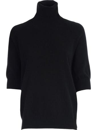 Mrz Sweater 3/4s Turtle Neck Raglan Zip