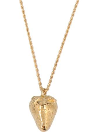AMBUSH 'strawberry Charm' Necklace
