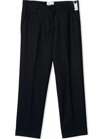 Fendi Navy Wool Trousers