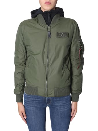 Alpha Industries Ma-1 D-tec Bn Bomber