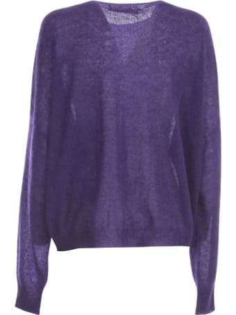 Liviana Conti Mohair Sweater L/s Crew Neck
