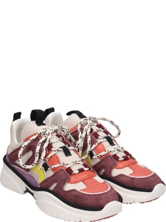Isabel Marant Kindsay Sneakers In Viola Tech/synthetic