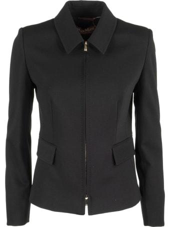 Max Mara Reflex Viscose Jacket With Zip