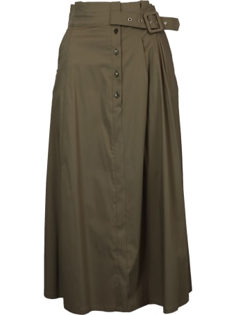 Patrizia Pepe Cotton Mix  Skirt