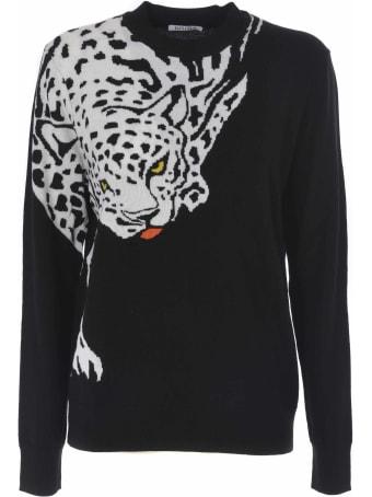 Krizia Tiger Intarsia Sweater