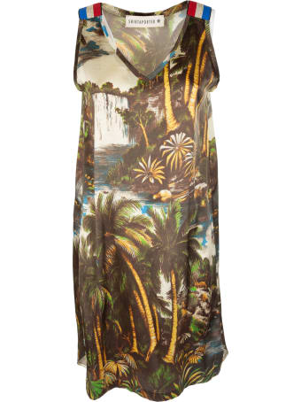 Shirt a Porter Jungle Print Dress