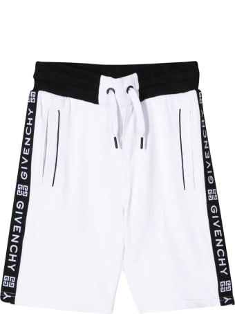 Givenchy Kids Side Band Running Shorts