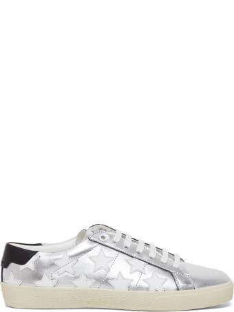 Saint Laurent Sl06 20 Star Sneakers In Leather