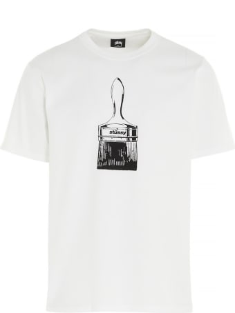 Stussy 'paint Brush' T-shirt