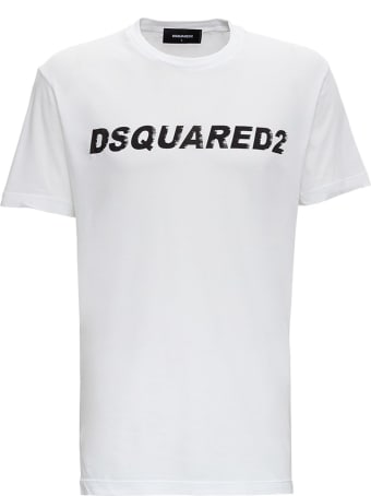 Dsquared2 Jersey T-shirt With Logo Print