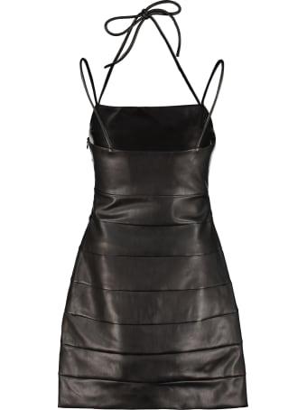 STAUD Buzz Faux Leather Mini-dress