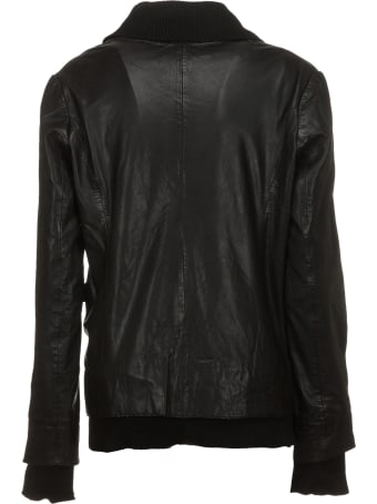 Bully Black Leather Jacket