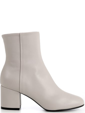 Luca Valentini White Boots