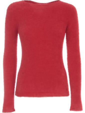 Emporio Armani Sweater L/s Boat Neck Peluche