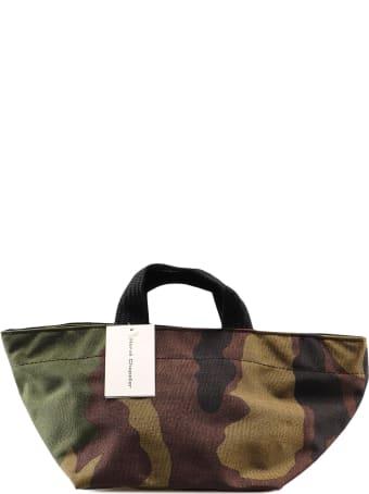 Hervè Chapelier S Camouflage Print Tote